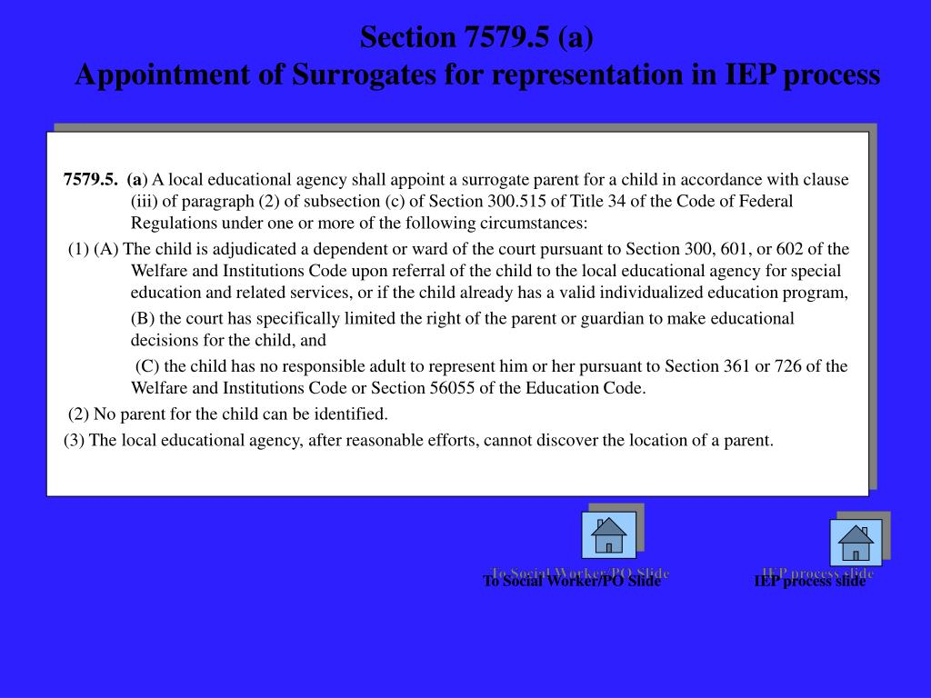 Section 7579.5 (a)
