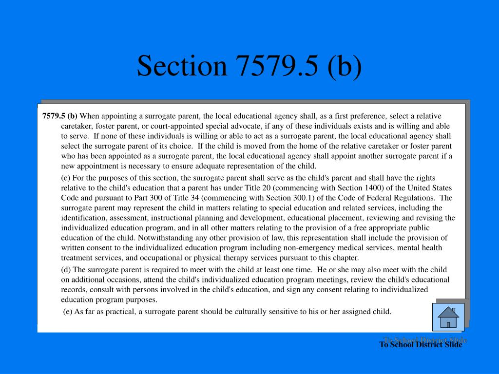 Section 7579.5 (b)