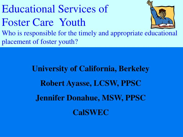 Educational Services of
