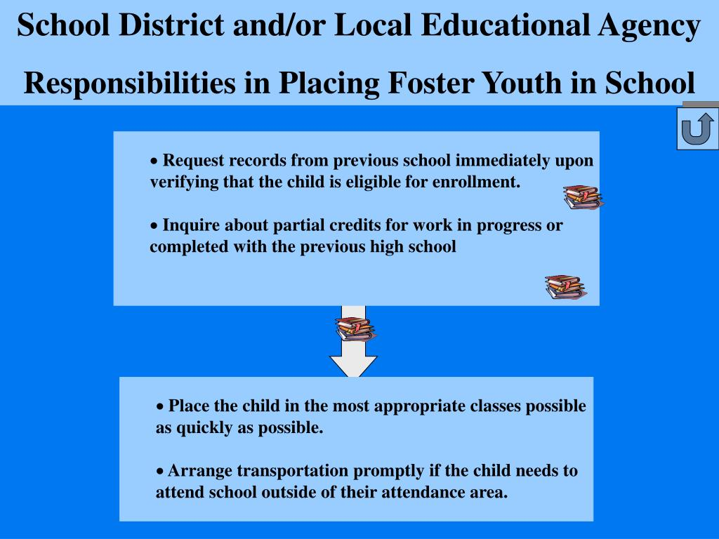 School District and/or Local Educational Agency