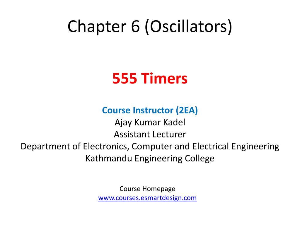 chapter 6 oscillators l.