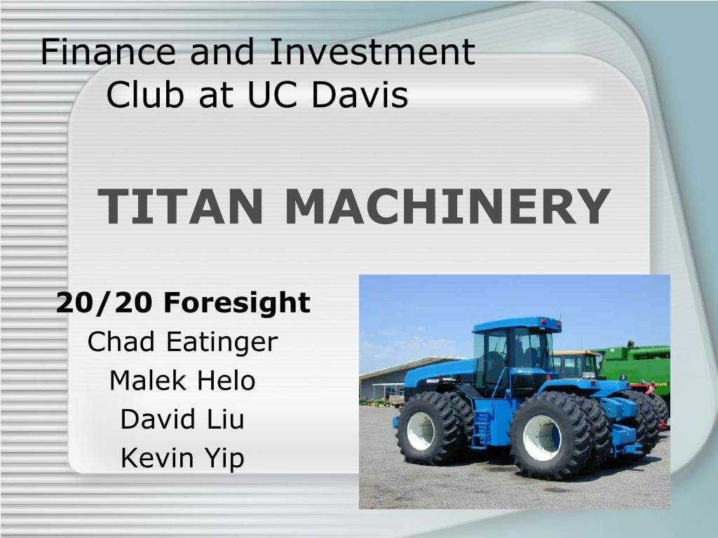 finance and investment club at uc davis l.