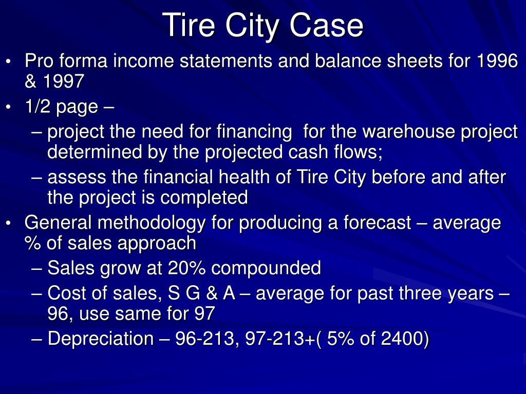 tire city case l.