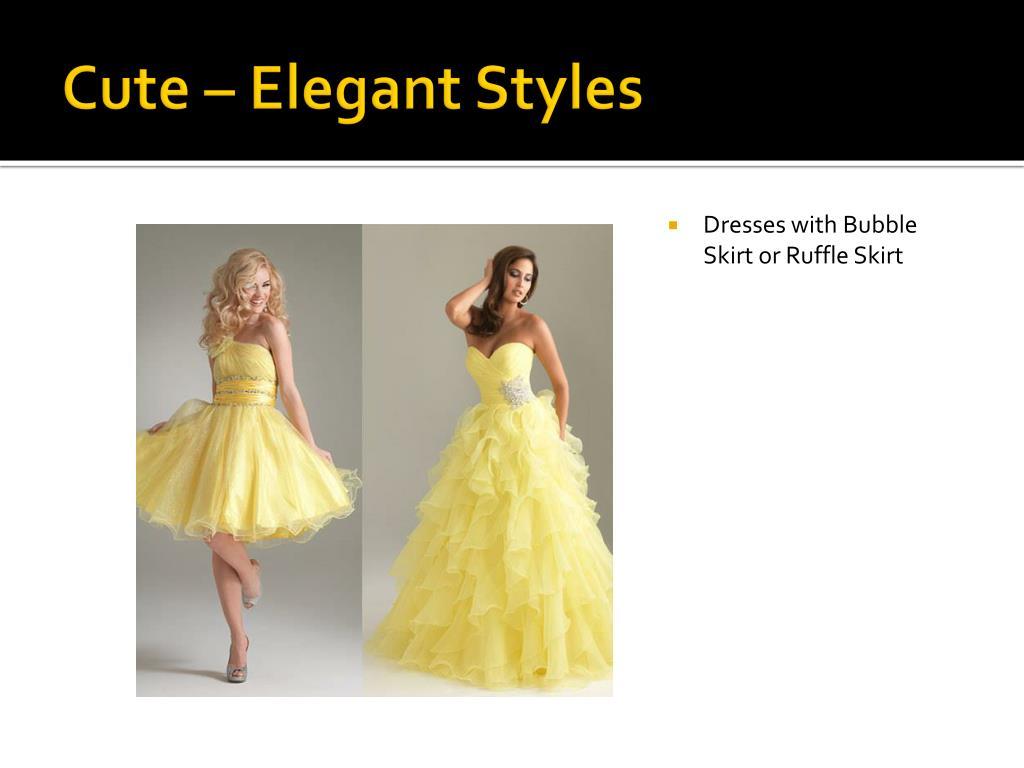 Cute – Elegant Styles