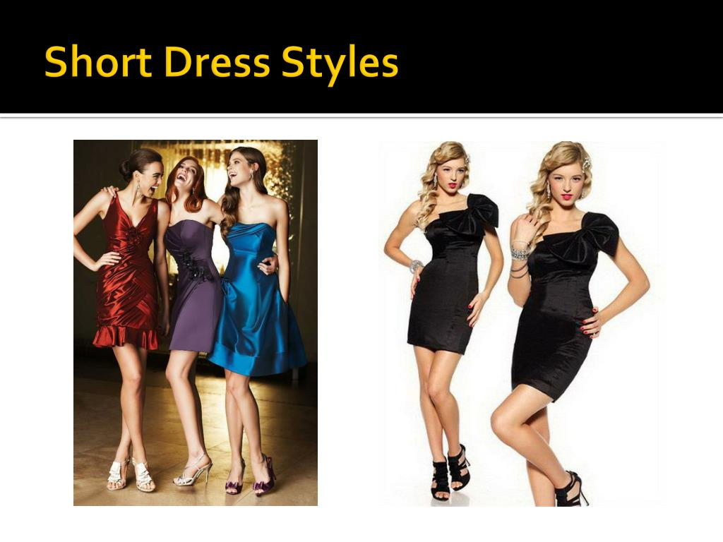 Short Dress Styles