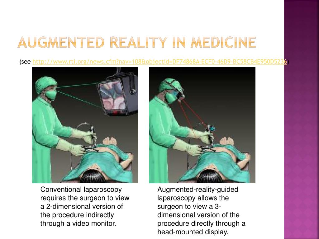 Augmented reality in medicine