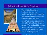 medieval political system