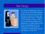 the clergy