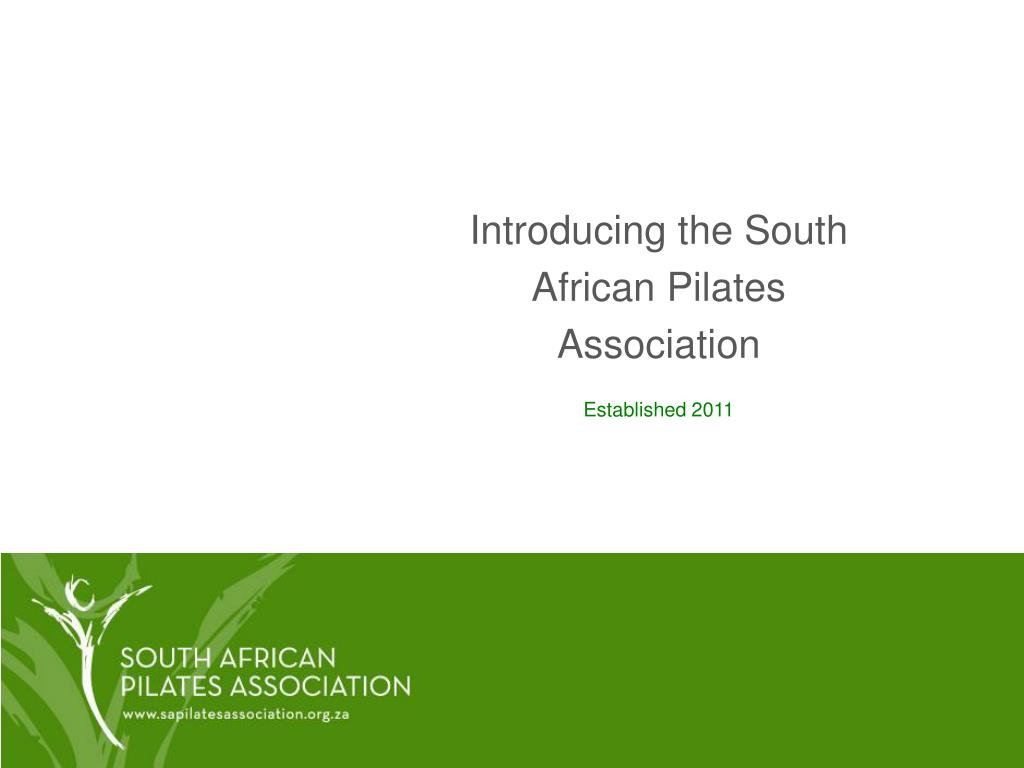 introducing the south african pilates association l.