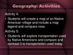 geography activities18