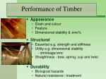 performance of timber4