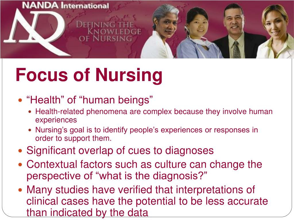 Focus of Nursing