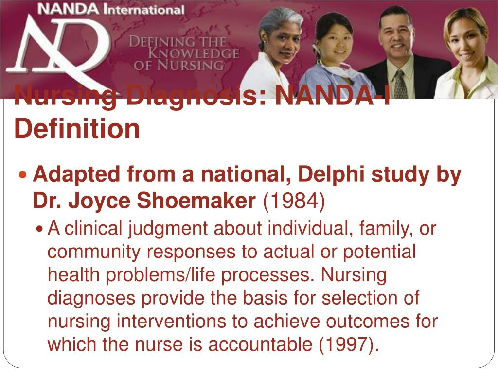 Nursing Diagnosis: NANDA-I Definition