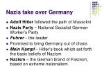 nazis take over germany