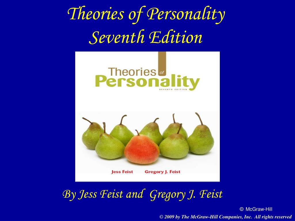 theories of personality seventh edition l.