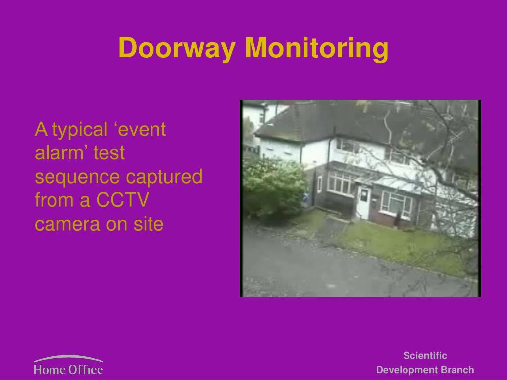 Doorway Monitoring