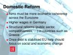 domestic reform