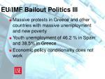 eu imf bailout politics iii