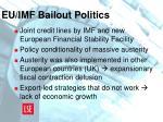 eu imf bailout politics