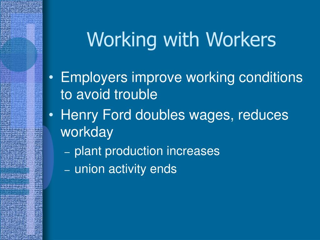 Working with Workers
