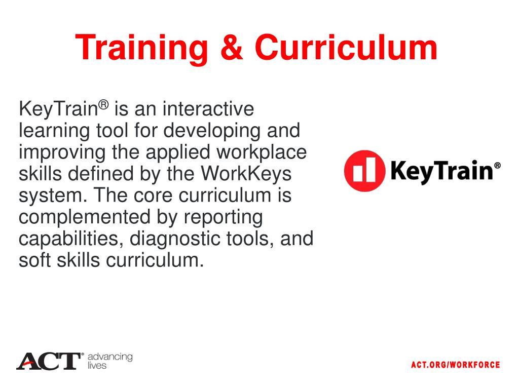 Training & Curriculum