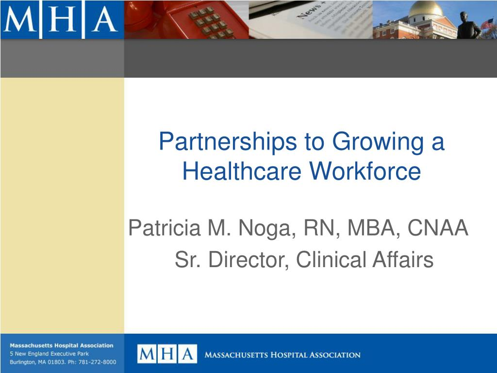 partnerships to growing a healthcare workforce