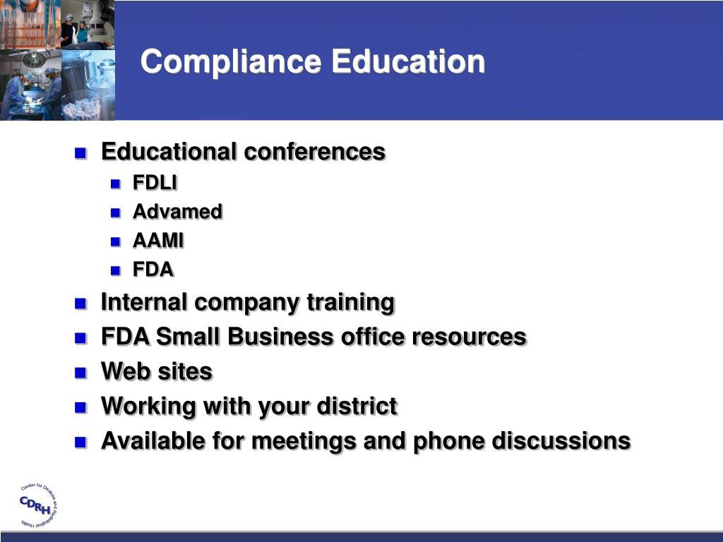 Compliance Education