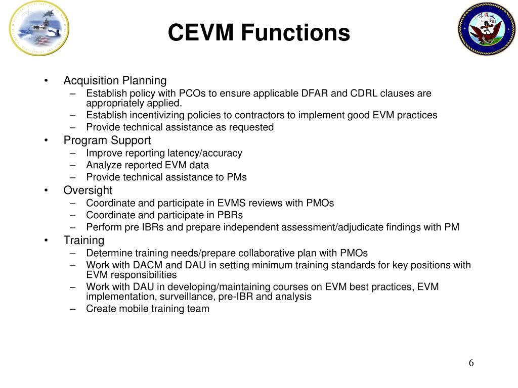 CEVM Functions