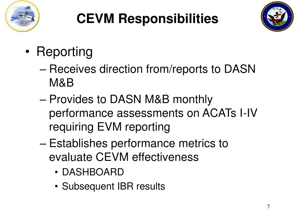 CEVM Responsibilities