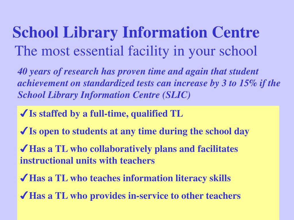 School Library Information Centre