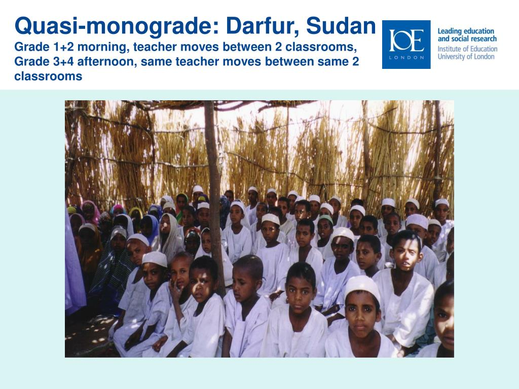 Quasi-monograde: Darfur, Sudan