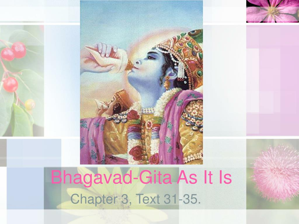 bhagavad gita as it is l.