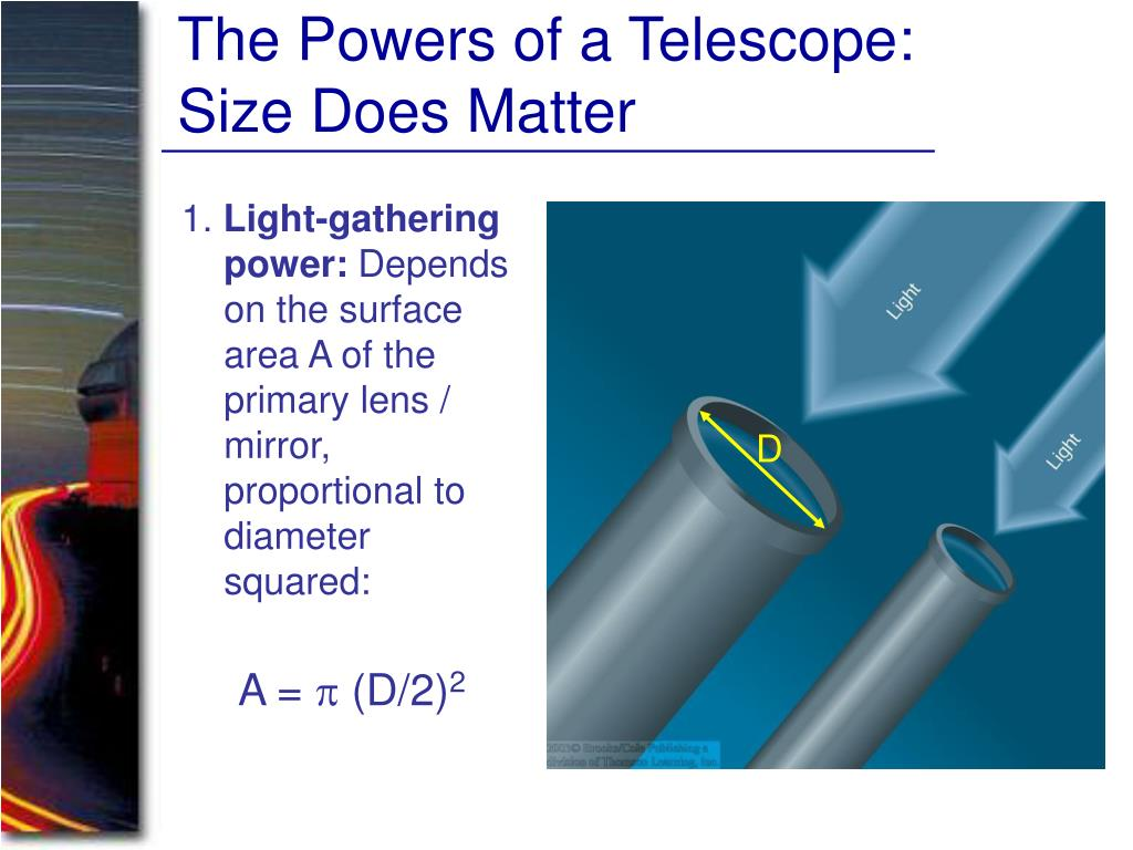 The Powers of a Telescope: