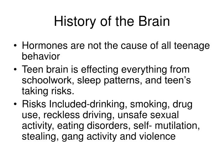 PPT Is The Teenage Brain Without A Driver PowerPoint Presentation Beauteous Teenage Sleep Patterns
