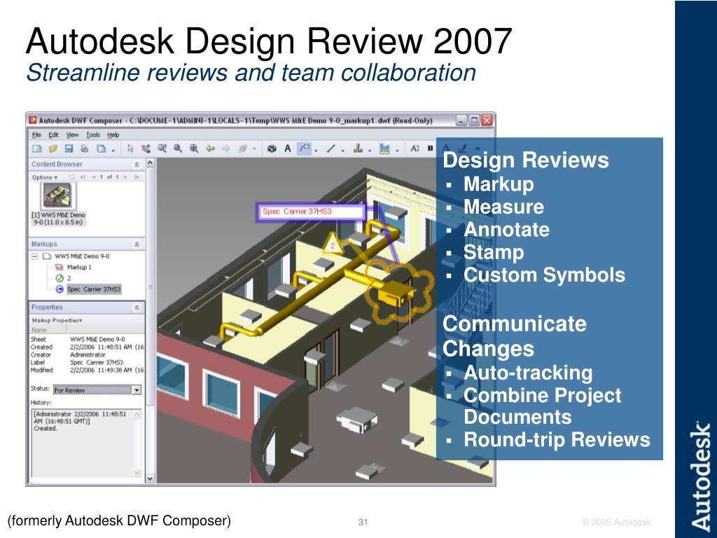Autodesk Design Review 2007
