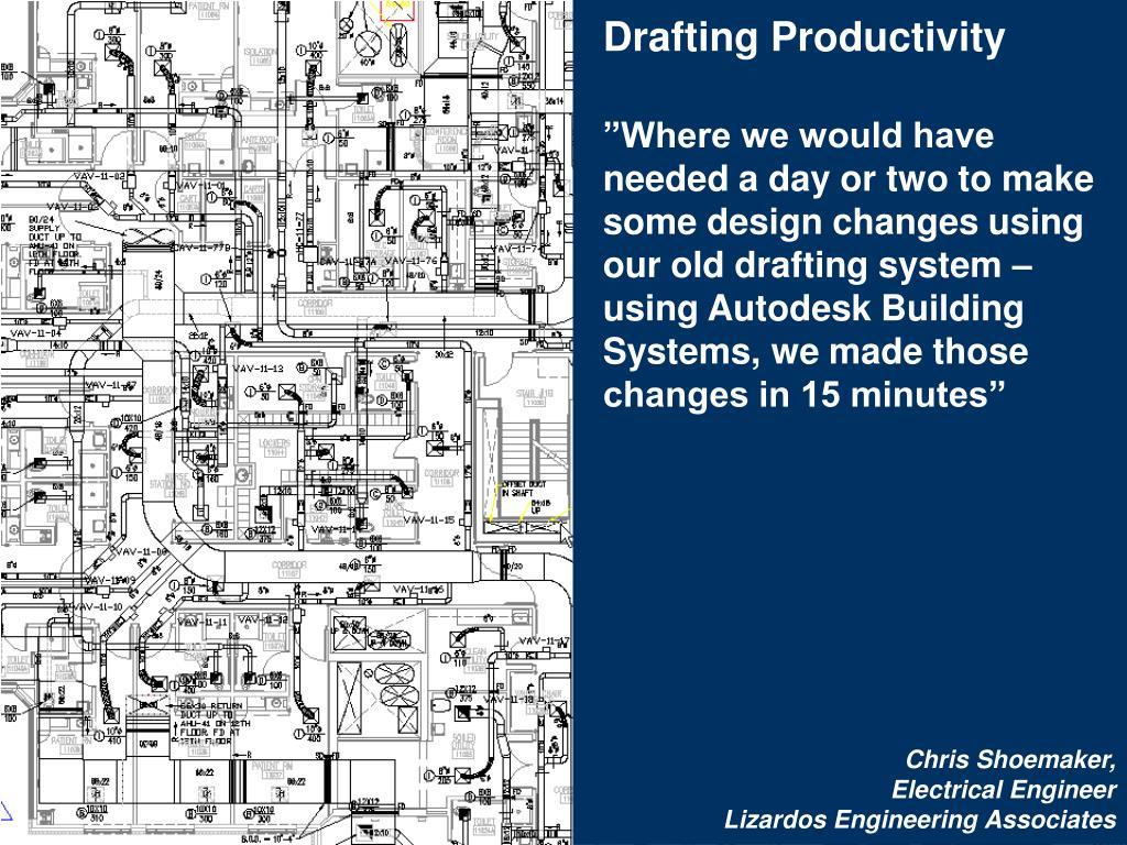 Drafting Productivity