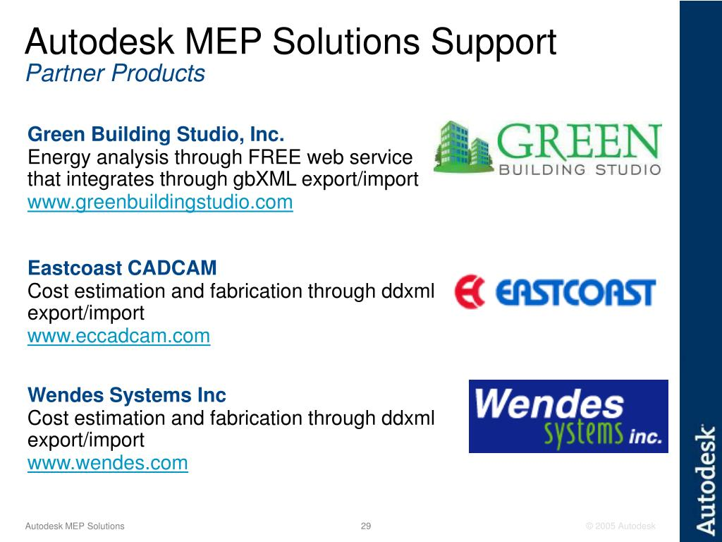 Autodesk MEP Solutions Support