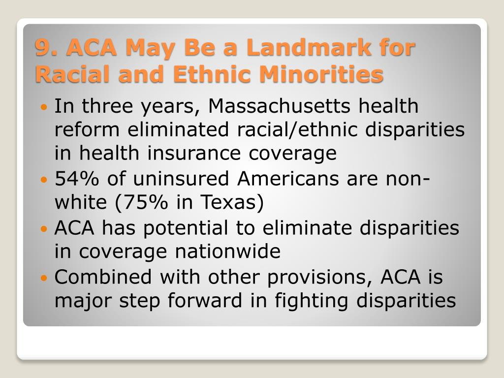 In three years, Massachusetts health reform eliminated racial/ethnic disparities in health insurance coverage
