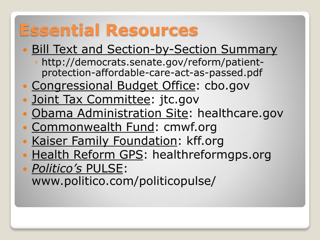 Bill Text and Section-by-Section Summary