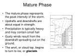 mature phase1