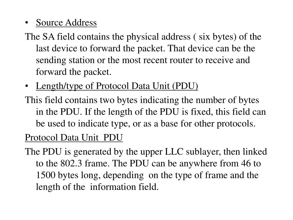 Source Address
