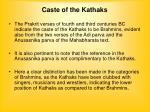 caste of the kathaks