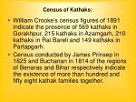 census of kathaks