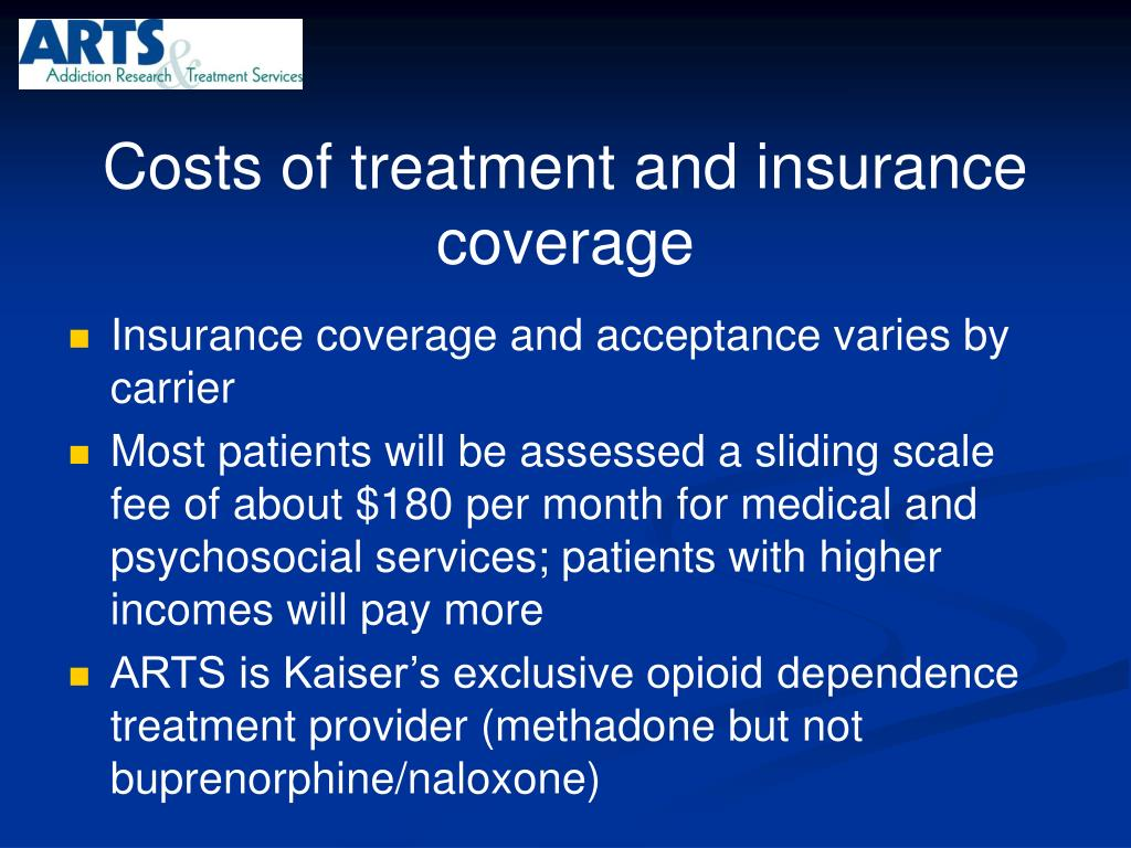 Costs of treatment and insurance coverage