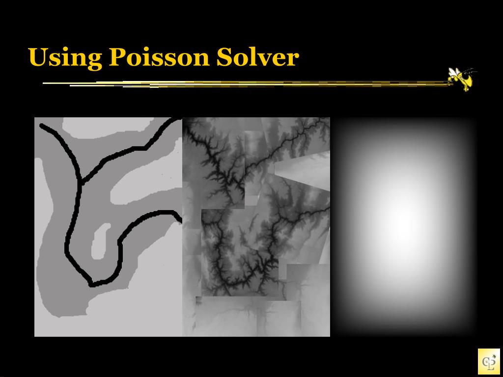Poisson Image Editing & Terrain Synthesis - PowerPoint PPT Presentation