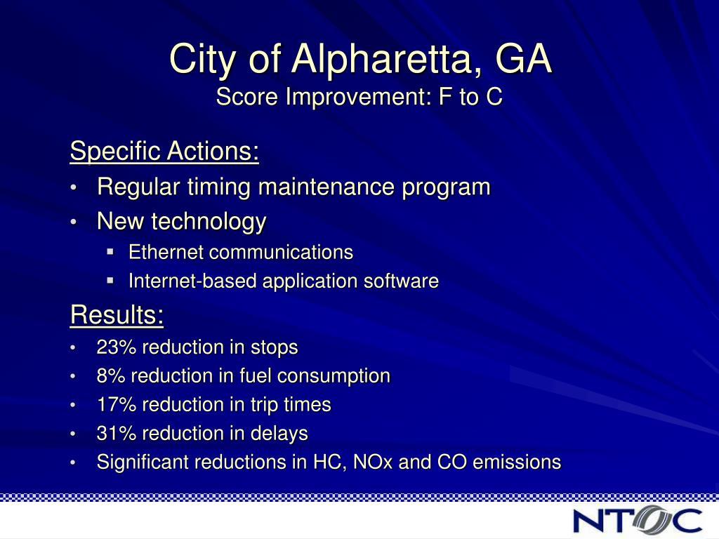 City of Alpharetta, GA