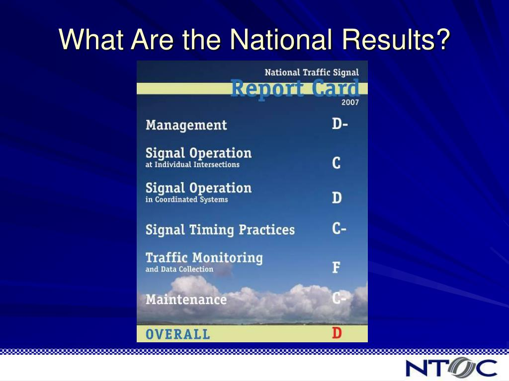 What Are the National Results?