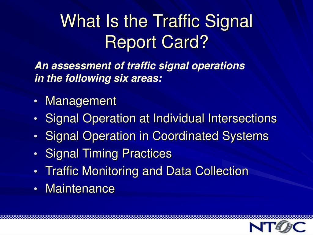 What Is the Traffic Signal