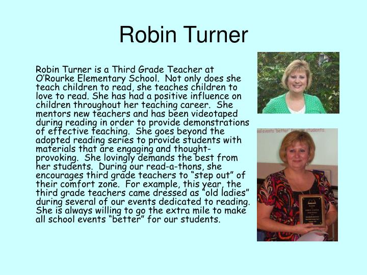 Robin Turner