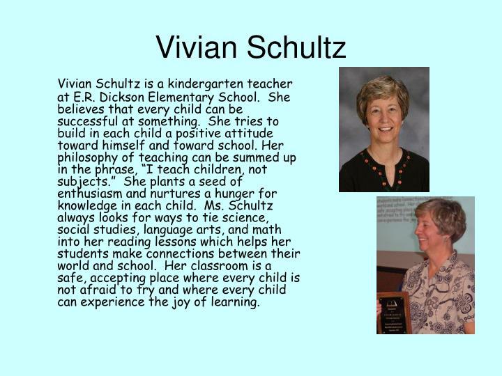 Vivian Schultz